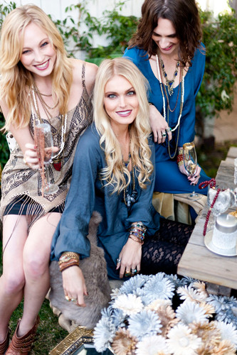 New photos of Candice for Show Me Your Mumu's 2012 Holiday Collection {Mumu Jewels}.