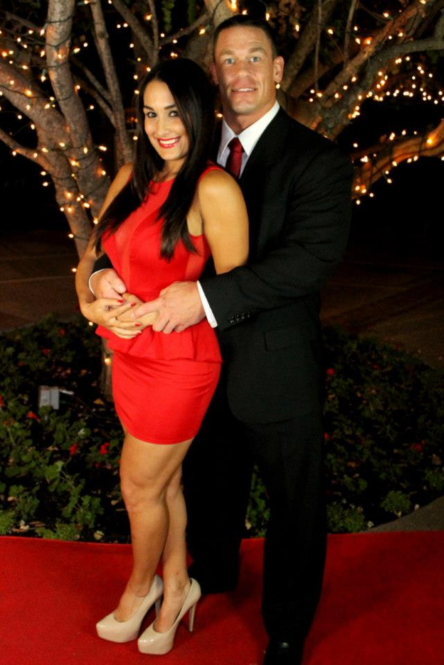WWE Nikki Bella and John Cena