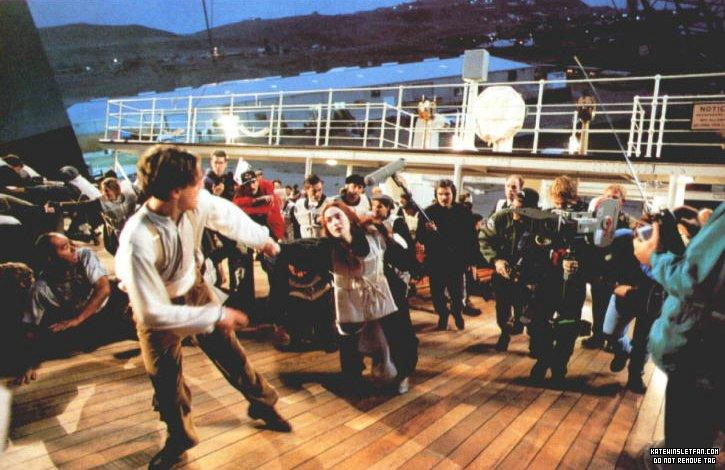 on set photos titanic photo 32916071 fanpop