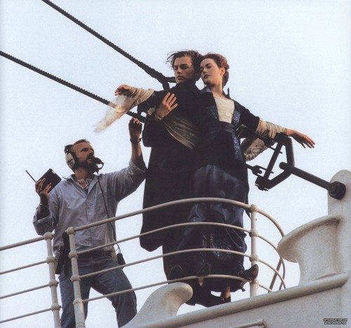 Titanic wallpaper called On Set Photos