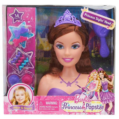 Barbie Rock N Royals Wallpaper: Keira Styling Head Doll HD