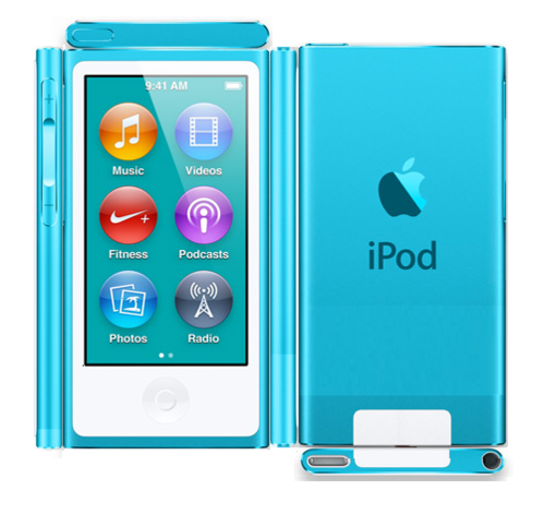 Paper Blue ipod的, ipod Nano