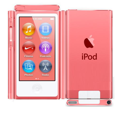 Paper گلابی آئی پوڈ, ipod Nano