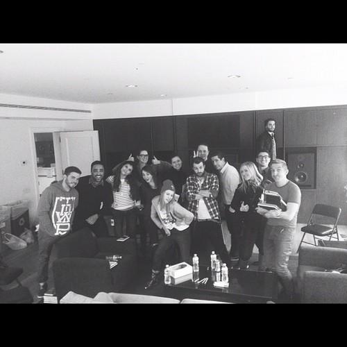 paramore in studio