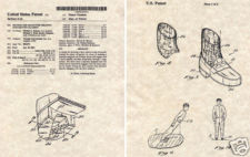 "Patent design For The ""Anti-Gravity"" Lean Shoes"