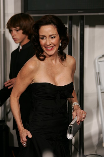 Patricia Heaton Hintergrund probably with a bustier titled Patricia Heaton