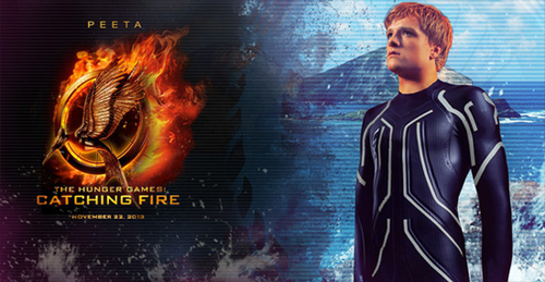 Peeta-Catching 불, 화재