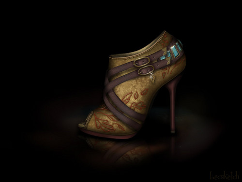 Pocahontas inspired shoe