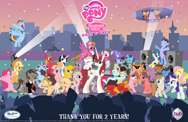 My Little Pony Friendship is Magic Ponies RULE!
