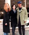 Rachel, Monica, Ross - friends photo