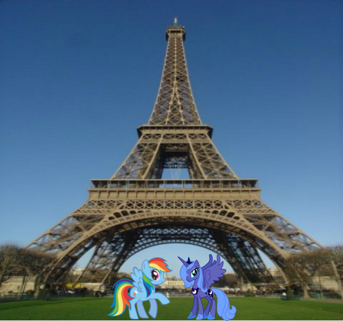 arc en ciel Dash & Princess Luna