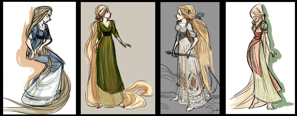 Disney Princess Character Design : Rapunzel character design disney princess fan art