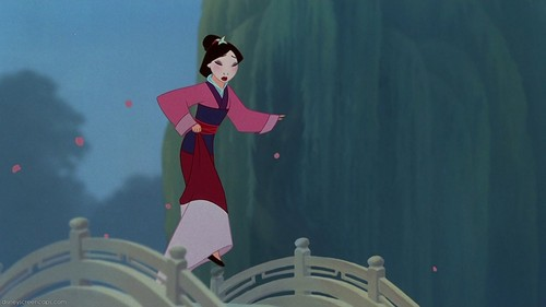 Mulan wallpaper called Reflection