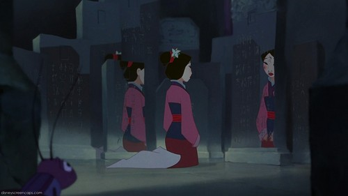 Mulan wallpaper probably containing a business suit, a concert, and a street titled Reflection