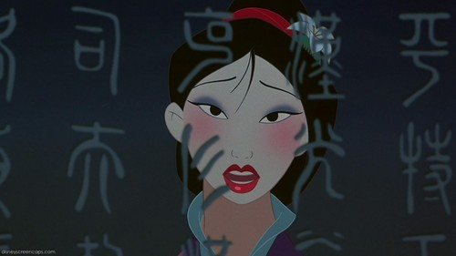 Mulan wallpaper entitled Reflection
