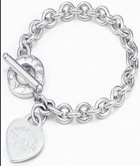 Return to Tiffany hart-, hart lock bracelet