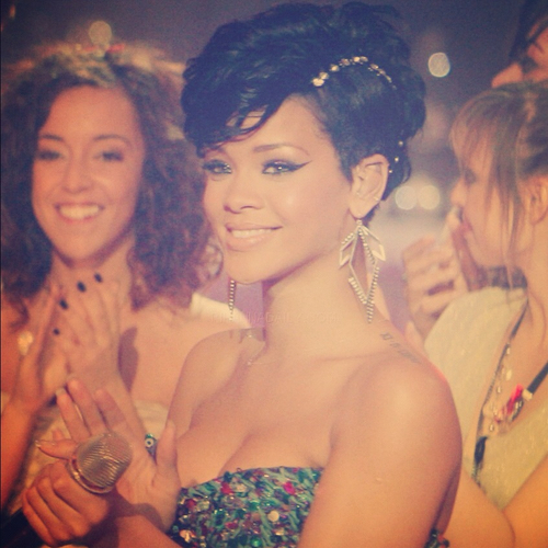 Rihanna is gorgeous!!!!! :)