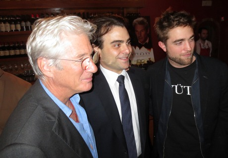 Robert Pattinson At Arbitrage Lunche on 30th Nov 2012