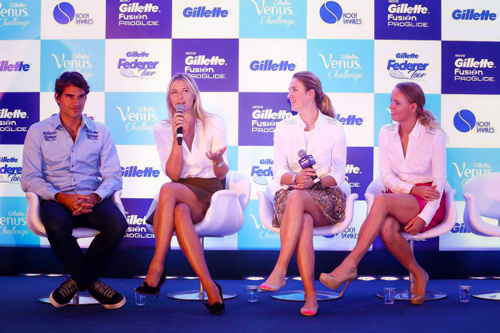 Roger with girls