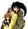 Ruko's Mom & Dad - nura-the-rise-of-yokai-clan photo