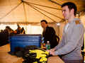 Ryan and Emmet helping Hurricane Sandy victims at Rockaway Beach - ryan-kelly photo