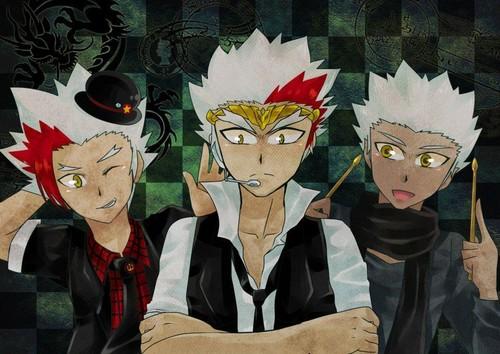 Ryuto,Ryuga and Helios