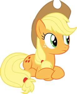 applejack My Little Pony: Friendship is Magic kertas dinding titled Say what?