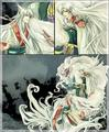 Sesshomaru and Yoko Kurama - inuyasha fan art