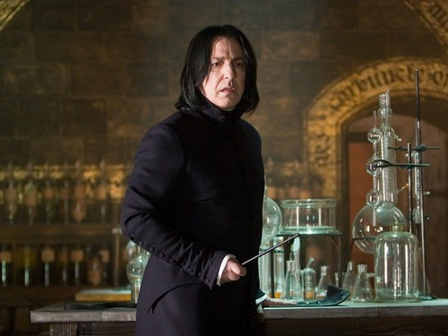 Severus Snape wallpaper probably containing a well dressed person and a business suit called Severus Snape Wallpaper