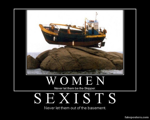 Feminism wallpaper called Sexists: The Basement-Dwelling Species