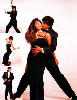 "Shahrukh & Gauri ""Vintage Photoshoot"" 1994"
