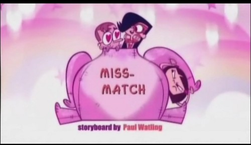 "Sidekick: ""Miss match"" pamagat card"
