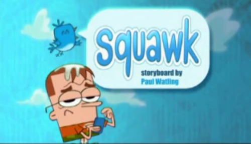 "Cartoon Network's Sidekick wallpaper titled Sidekick: ""Squawk"" title card"
