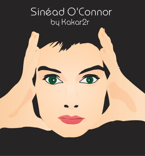 Sinéad O'Connor vector