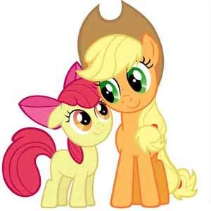 cidre fort, cidre fort, applejack My Little Pony: Friendship is Magic fond d'écran called Sisters