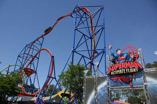 Six Flags Discovery Kingdom Superman Ultimate Flight