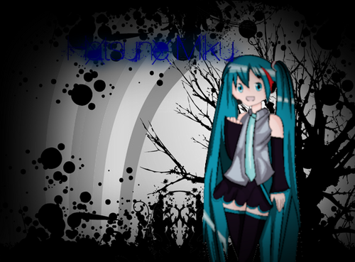 Something I made for HATSUNE!