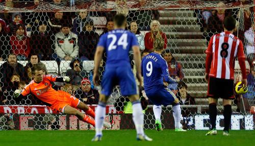 Sunderland - Chelsea, Premier League, 08.12.2012