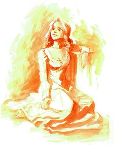 魔发奇缘 - Rapunzel concept art