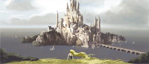 Rapunzel - L'intreccio della torre - concept art