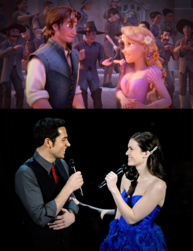 Tangled & voice actor