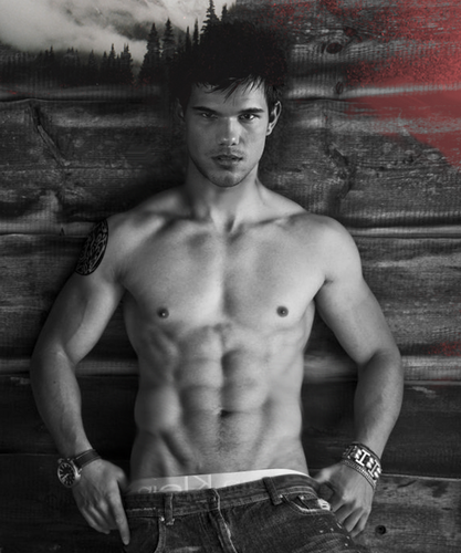 Taylor Lautner پیپر وال with a hunk کے, hunk and a six pack called Taylor manip