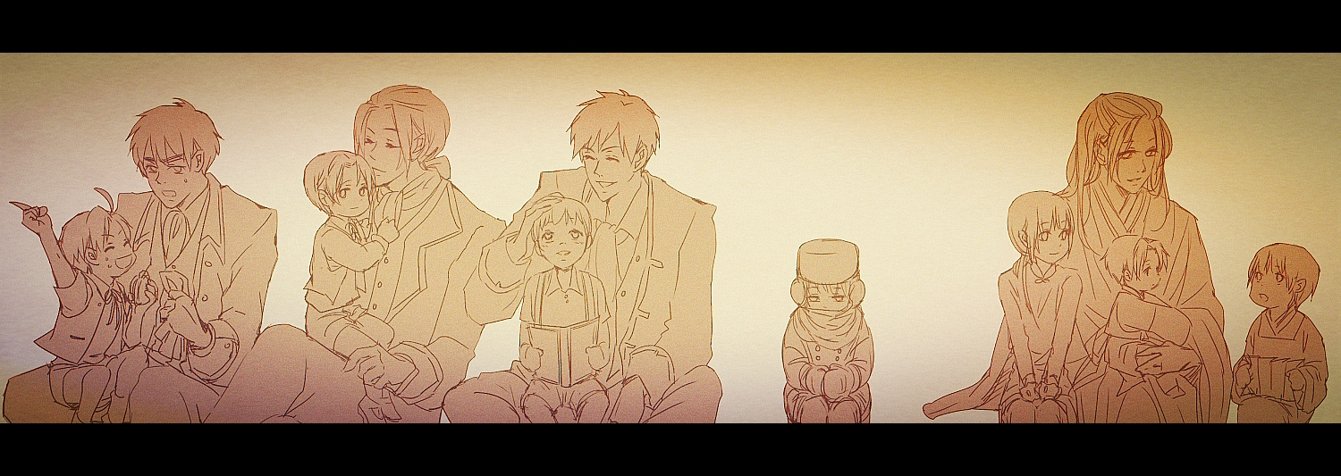 The Families of Hetalia