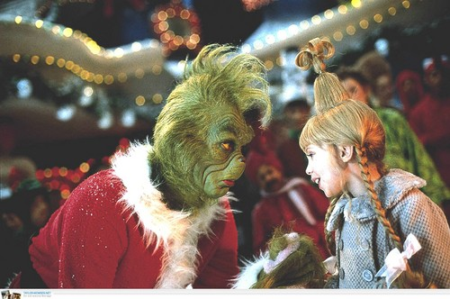 How The Grinch aliiba krisimasi karatasi la kupamba ukuta titled The Grinch