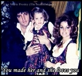 The Presley Familt - elvis-aaron-presley-and-lisa-marie-presley fan art