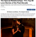 The Special Relationships: TV's top, boven 50 Love Stories of the Past Decade
