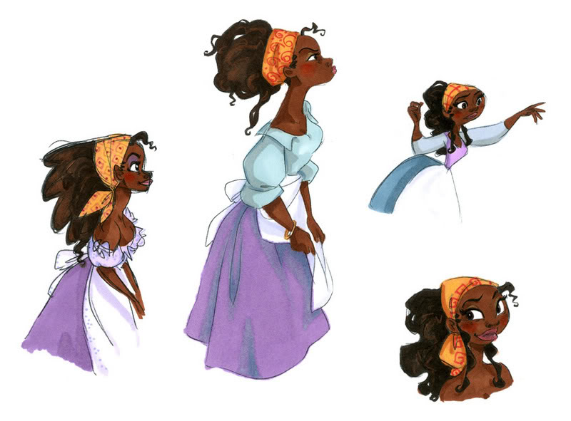 Tiana - concept art - Disney Princess Fan Art (32923255 ...