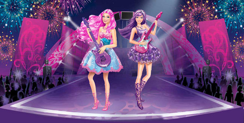 Barbie Movies wallpaper titled Tori and Keira in the final concert