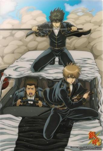 Toushirou, Kondo & Okita