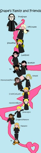 Snape's Family and Friends wallpaper probably with anime called Trust Me, Fangirls!
